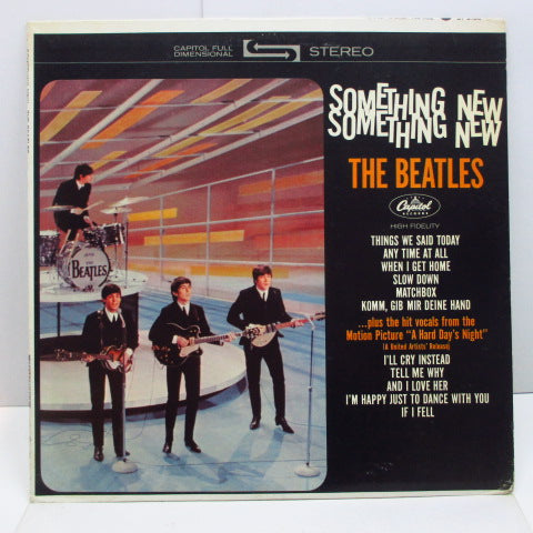 BEATLES - Something New (US '69 Re Green Lbl.Stereo LP)