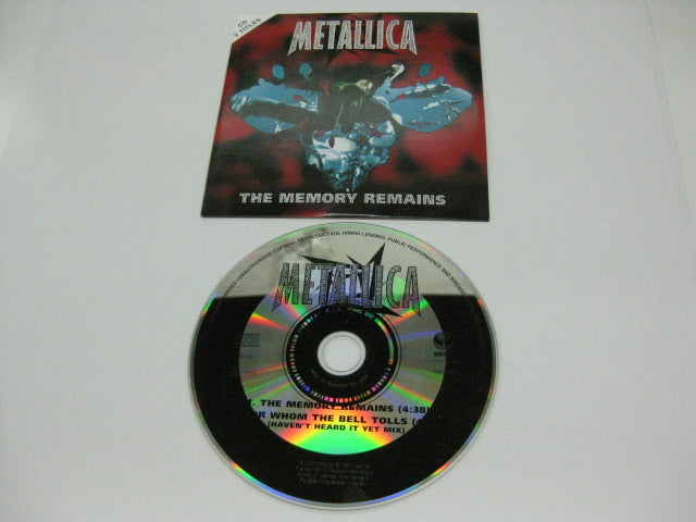 METALLICA - The Memory Remains / For Whom The Bell Tolls (独)