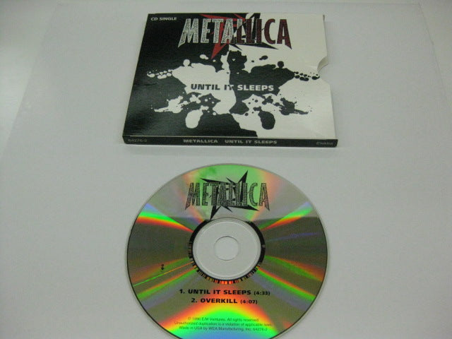 METALLICA - Until It Sleeps / Overkill (US)
