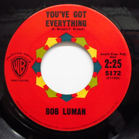 BOB LUMAN - Let's Think About Living (Orig.)