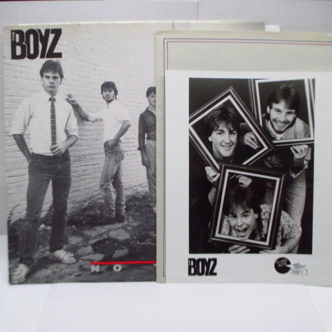 BOYZ, THE - No Trace (US Orig.LP+Press Kit)