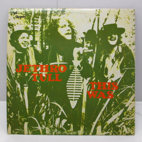 JETHRO TULL (ジェスロ・タル)  - This Was (US Orig.Stereo LP/GS)