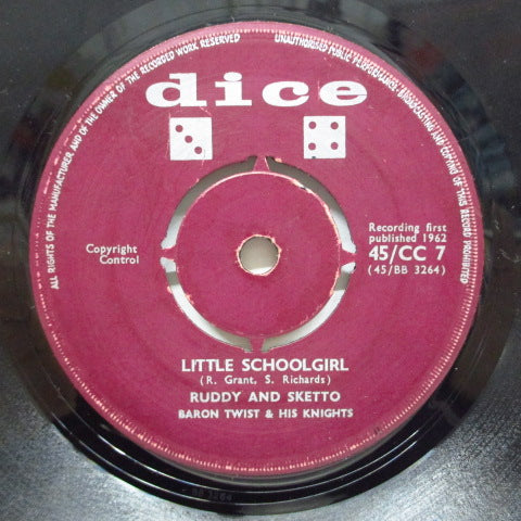 RUDDY & SKETTO - LIttle School Girl / Hush Baby (UK Orig)