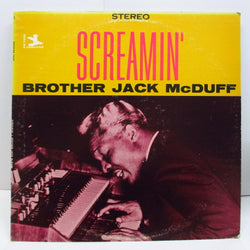 BROTHER JACK McDUFF - Screamin' (US '72 Reissue Stereo)