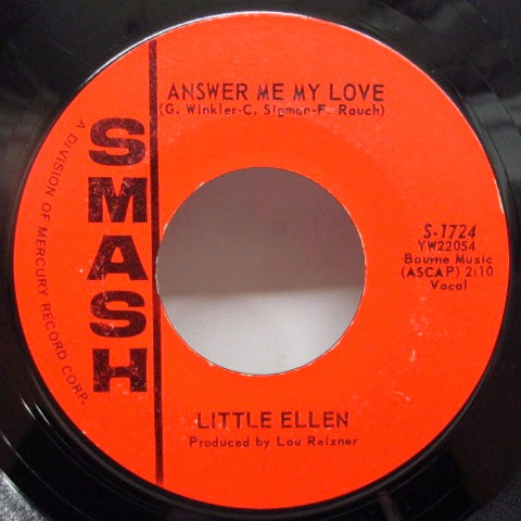 LITTLE ELLEN - Answer Me My Love / That Other Guy