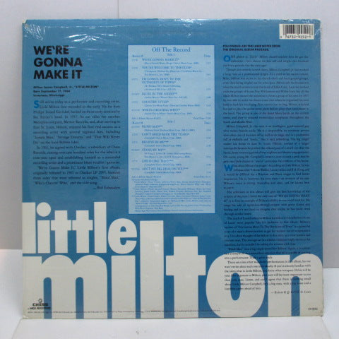 LITTLE MILTON - We're Gonna Make It (US '86 Reissue LP)