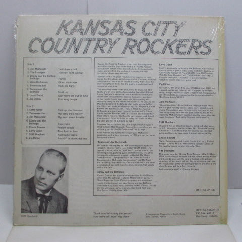 V.A. - Kansas City Country Rockers (Dutch Orig.LP)