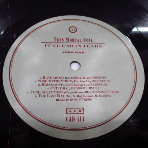 THIS MORTAL COIL-It'll End In Tears (UK Orig.LP)