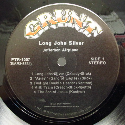 JEFFERSON AIRPLANE - Long John Silver (US Orig.Flexible LP)