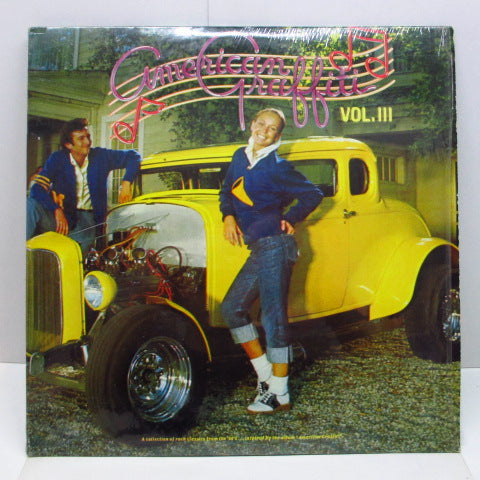 V.A. (O.S.T.) - American Graffiti Vol.3 (US 80's Re 2xLP)