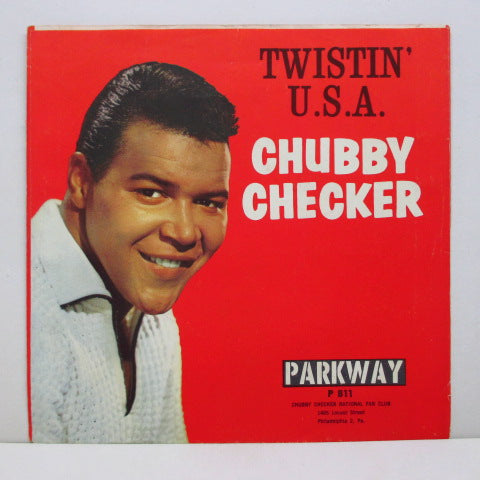 "CHUBBY CHECKER - The Twist (US 2nd Press 7""+PS)"