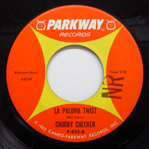 CHUBBY CHECKER - Slow Twistin' / La Paloma Twist (Orig.)