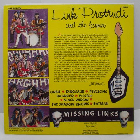 LINK PROTRUDI AND THE JAYMEN - Missing Links