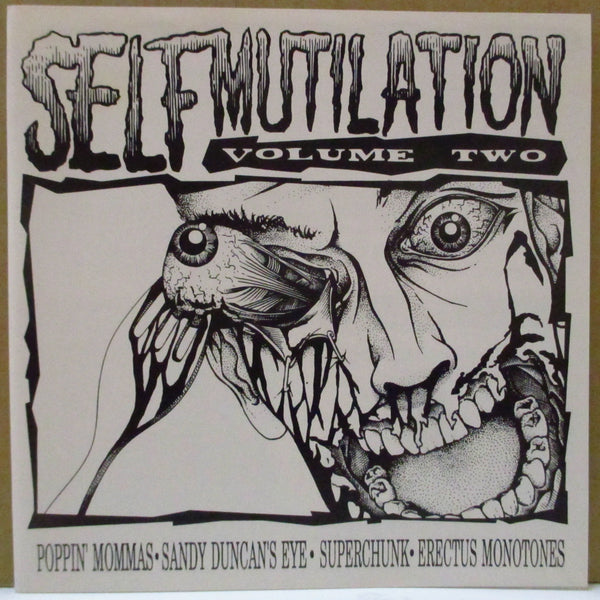 "V.A. - Self Mutilation Volume Two (OZ Ltd.Red Vinyl 7"")"