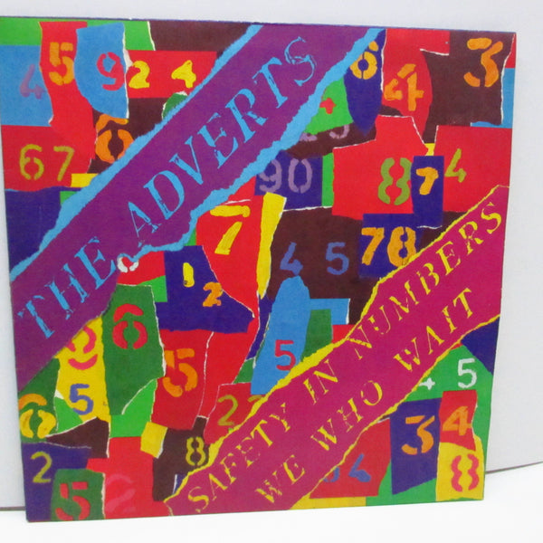 "ADVERTS, THE - Safety In Numbers (UK Orig.7"")"