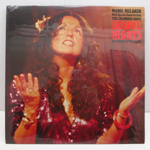 MARIA MULDAUR WITH SPECIAL GUEST ARTISTS THE CHAMBERS BROS. - Gospel Nights (Recorded At McCabes) (US Orig./Seald!)