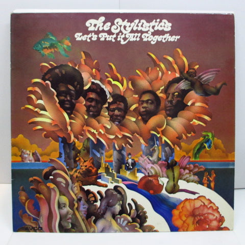 STYLISTICS - Let's Put It All Together (UK Orig.Orange Rim Purple Lbl./両面CS)