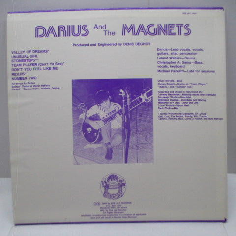DARIUS AND THE MAGNETS - In The Valley Of Dreams (US Orig.LP)