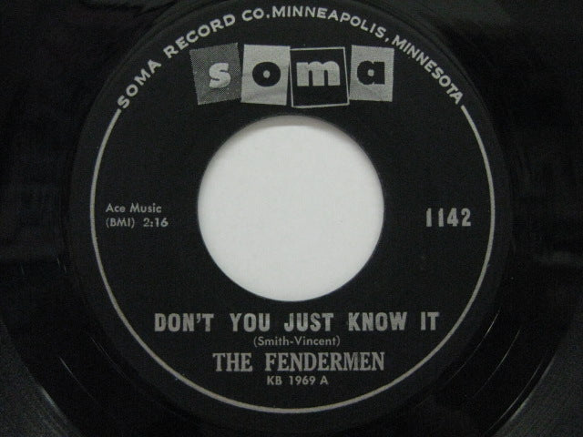 "FENDERMEN - Don't You Just Know It (US Orig.7"")"