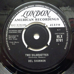 DEL SHANNON - Two Silhouettes (UK Orig.)