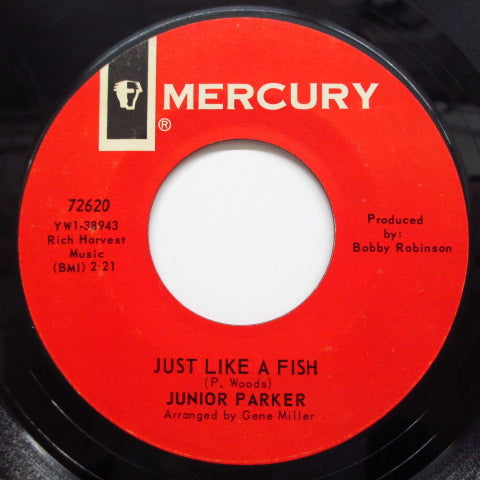 JUNIOR PARKER(LITTLE JUNIOR PARKER) - Just Like A Fish / Baby Please
