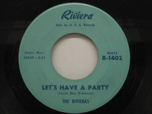 RIVIERAS - Let's Have A Party / Little Donna (Orig.)