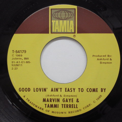 MARVIN GAYE & TAMMI TERRELL - Good Lovin' Ain't Easy To Come By (Orig)