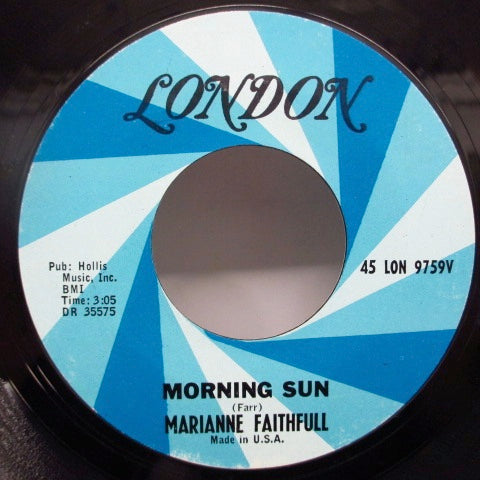 MARIANNE FAITHFULL - This Little Bird / Morning Sun (US)
