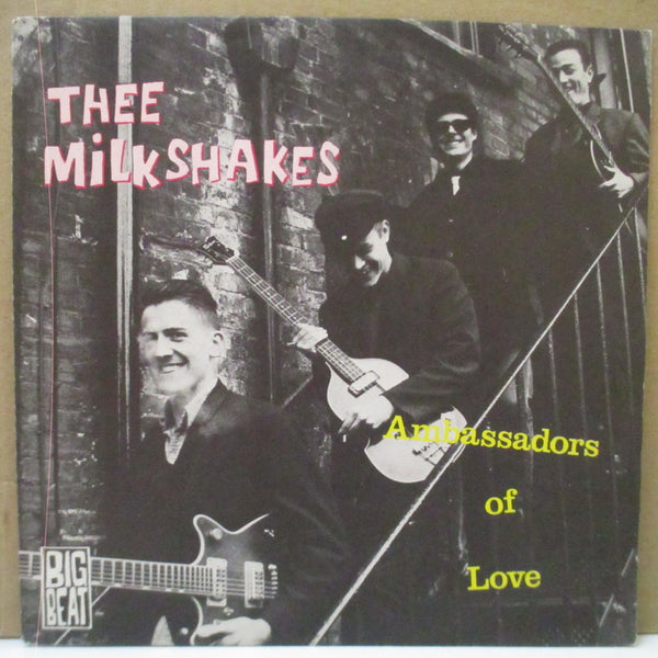 "MILKSHAKES - Ambassadors Of Love (UK Orig.7""+PS)"