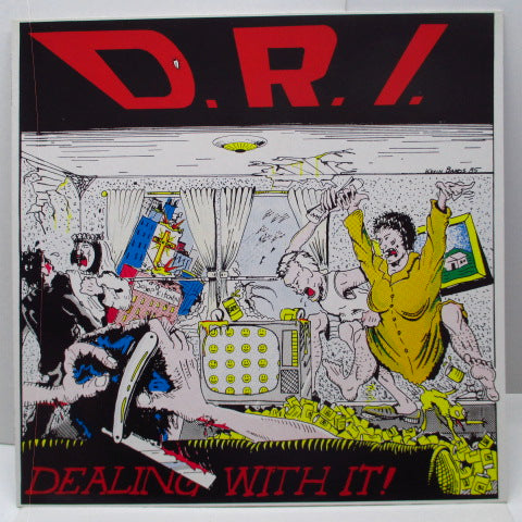 D.R.I. - Dealing With It! (German Orig.LP)