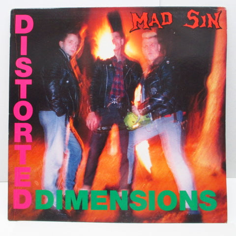 MAD SIN - Distorted Dimensions (German Orig.LP/Black Lbl.)