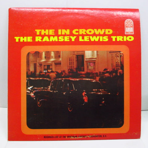 RAMSEY LEWIS TRIO - The In Crowd (US Orig.Stereo/Argo-757)