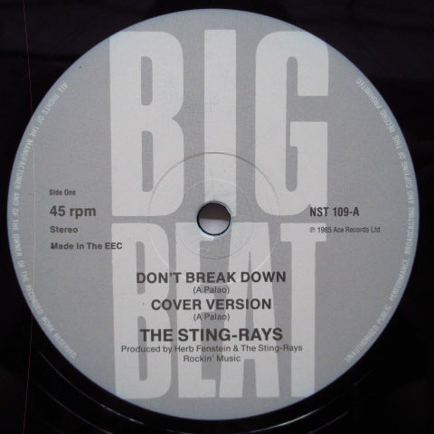 "STING-RAYS, THE - Don't Break Down +3 (UK Orig.12"")"