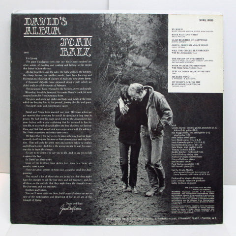 JOAN BAEZ - David's Album (UK:Orig.STEREO)