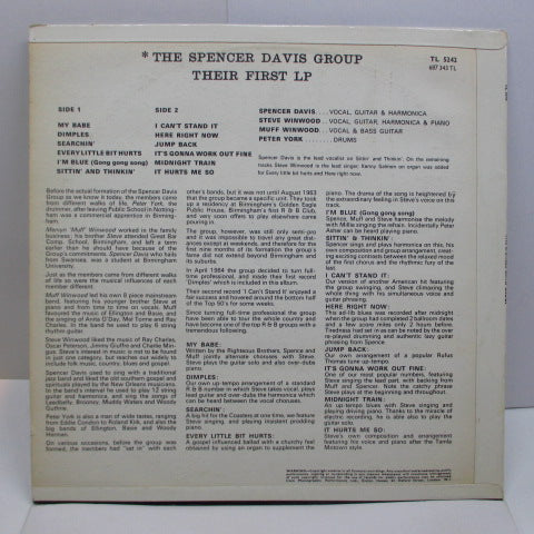 SPENCER DAVIS GROUP - Their First LP (UK Orig.MONO/CFS)