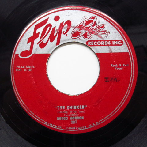 ROSCO GORDON - Love For You Baby (Orig.Red Label)
