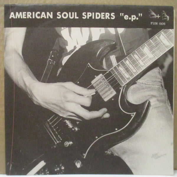 "AMERICAN SOUL SPIDERS (アメリカン・ソウル・スパイダース)  - ""E.P."" (Japan 500 Ltd.7""+Numbered CVR/1+2)"