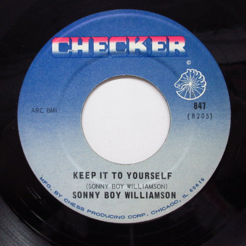 SONNY BOY WILLIAMSON - Keep It To Yourself (60's Reissue)