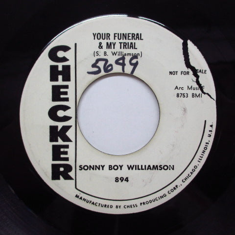 SONNY BOY WILLIAMSON - Your Funeral & My Trial (Promo)