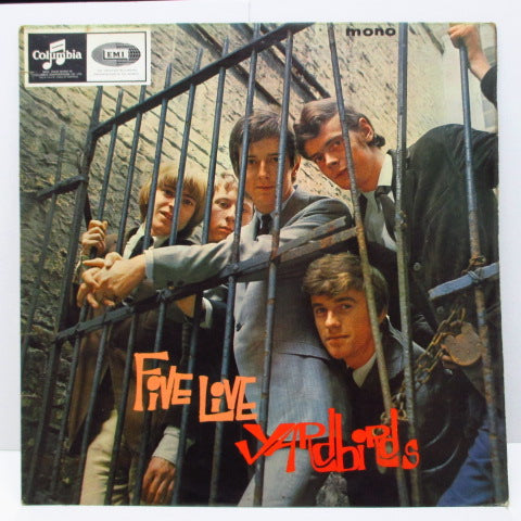 YARDBIRDS - Five Live Yardbirds (UK Orig.Mono LP/CFS)
