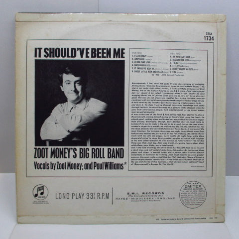 ZOOT MONEY'S BIG ROLL BAND - It Should've Been Me (UK Orig.MONO)