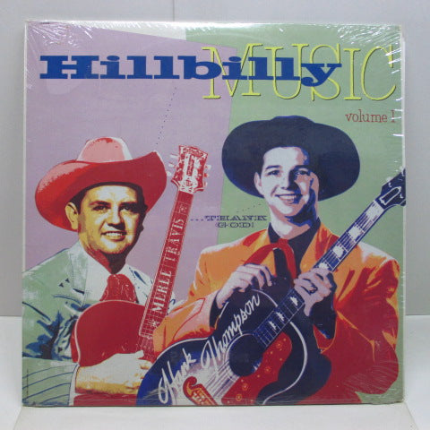 V.A. - Hillbilly Music Thank God Vol.1 (US Orig.2xLP)