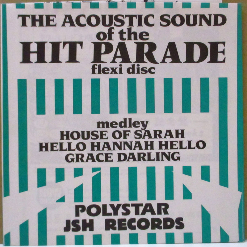 "HIT PARADE, THE - The Acoustic Sound Of The Hit Parade (Japan Promo.Clear Flexi 7"")"