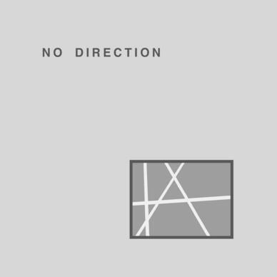 NO DIRECTION - S.T. (US Reissue LP/New)