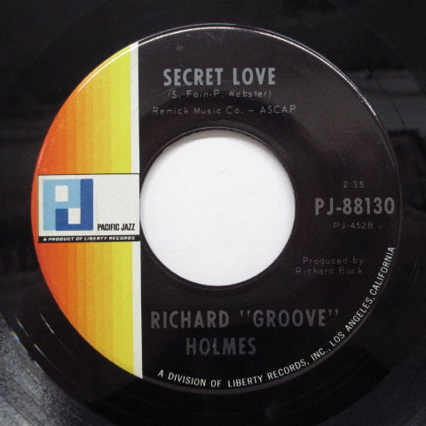 RICHARD (GROOVE) HOLMES - Hallelujah I Love Her So (Orig)