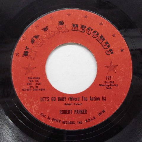 ROBERT PARKER - Barefootin' (Orig.Red Label)