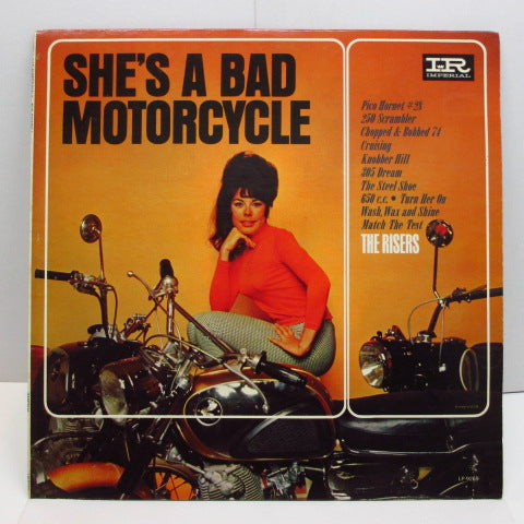RISERS - She's A Bad Motorcycle (US:PROMO MONO)