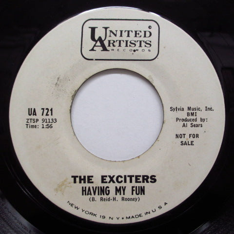 EXCITERS - Having My Fun (Promo)