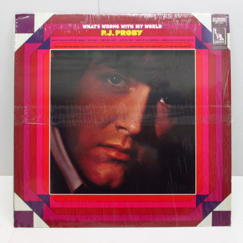 P.J.PROBY - What's Wrong With My World (US Orig.Stereo LP)