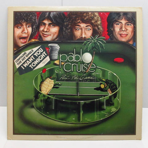 PABLO CRUISE (パブロ・クルーズ)  - Part Of The Game (US Orig.LP/Stickered CVR)